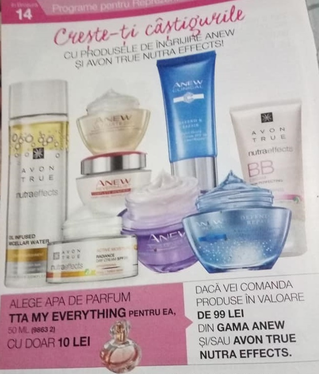 Creme anew si nutra effects