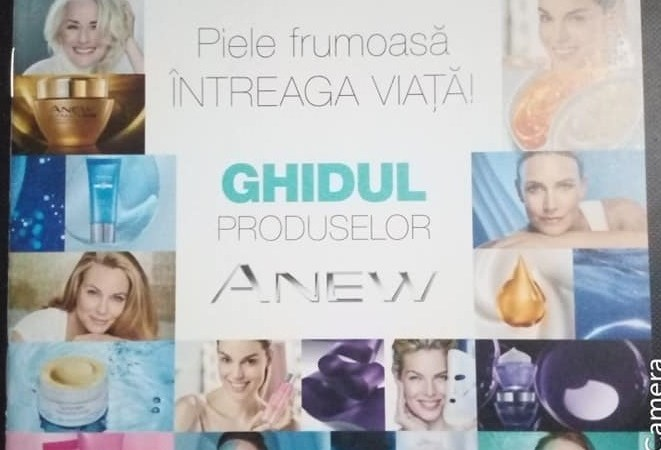 Ghidul produselor Anew explicat