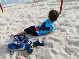 joaca in nisip