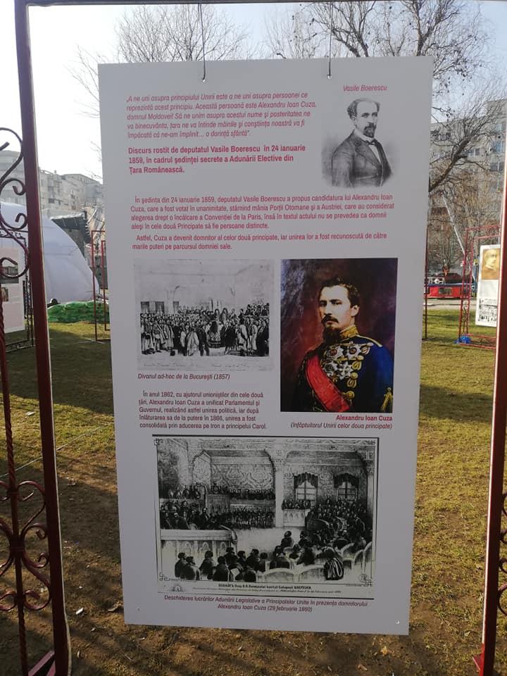 A.I.Cuza in parcul sebastian