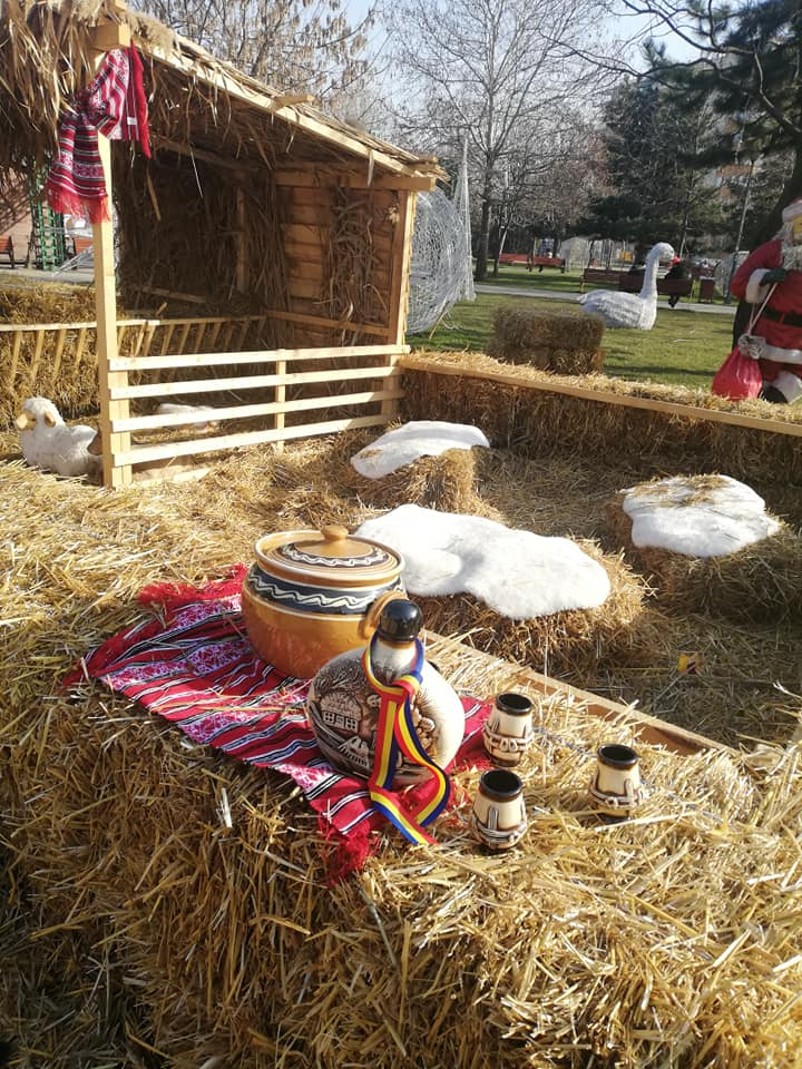 obiecte traditionale in parc sebastian