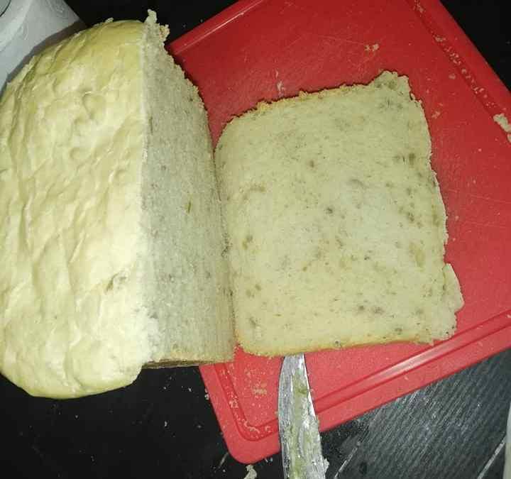 paine facuta cu masina de paine începutul ambitiei