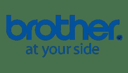 Logo de notre partenaire, brother, grande marque d'informatique avec laquelle nous travaillons