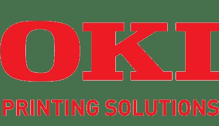 Logo de notre partenaire, Oki, grande marque d'informatique avec laquelle nous travaillons