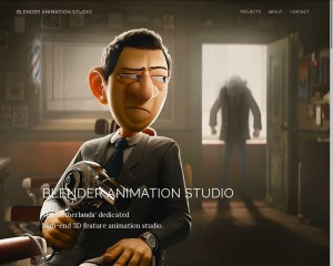 Studio d'animation Blender