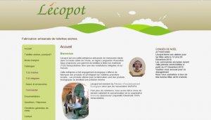 Lecopot, dry toilets