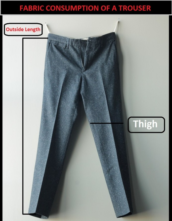 Fabric Consumption of a Trouser