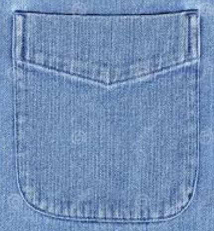 pocket for dress shirt