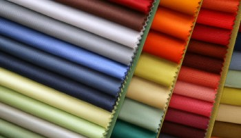 dyed finished fabric