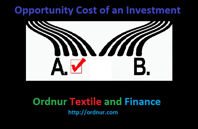 Opportunity Cost of an Investment
