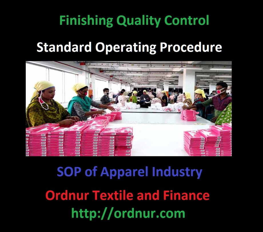 Finishing Quality Control SOP of Apparel Industry