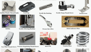 Sewing Machine Parts, All parts of Sewing Machine