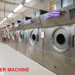 After Washing Garments Dryer Machine