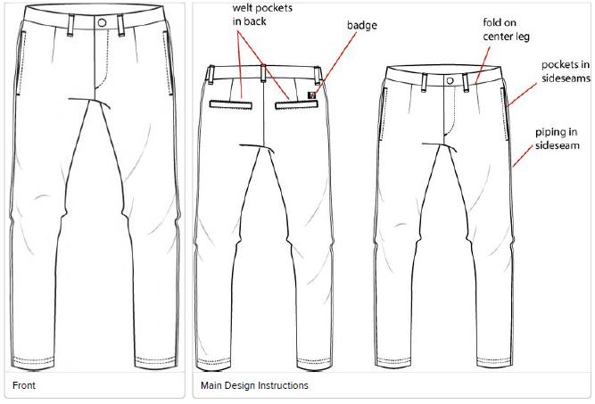 Chino Pant manufacturing