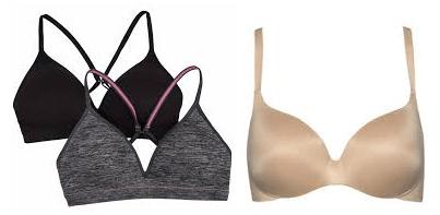 seamless t-shirt bra for women