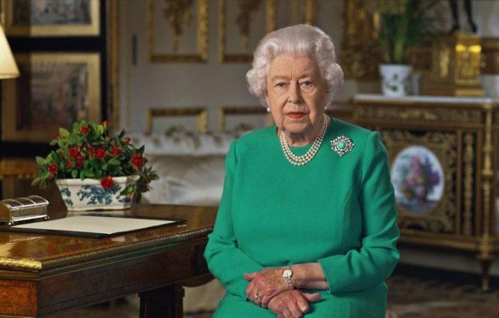 Elizabeth II thanked quarantine British
