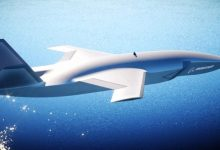 Photo of The first artificial intelligence combat jet drone