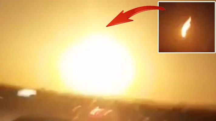 Meteor just exploded over Turkey