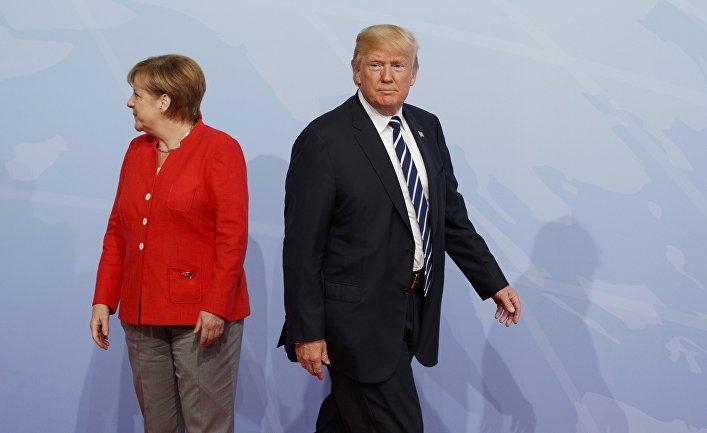 Nord Stream and Coronavirus split Trump and Merkel