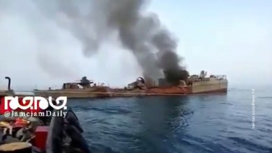 Photo of One Iranian warship knocked out another missile