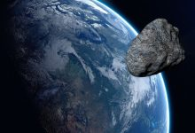 An asteroid is approaching Earth which will cross the orbit twice