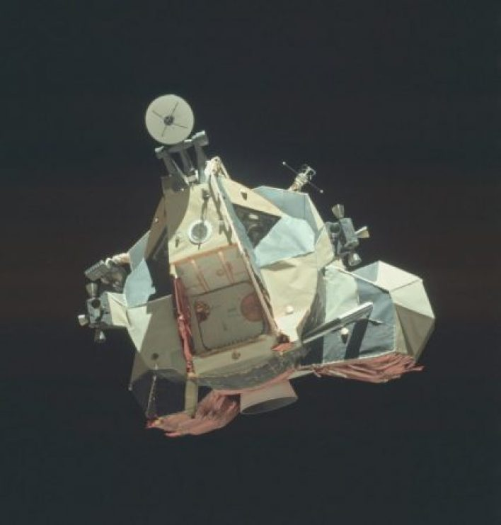 Unseen pictures of the Apollo 16