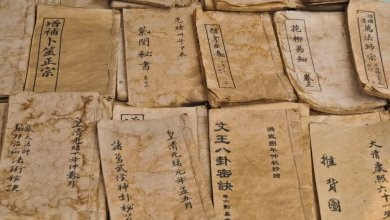 Photo of 1100-year-old Tang dynasty archive discovered in China