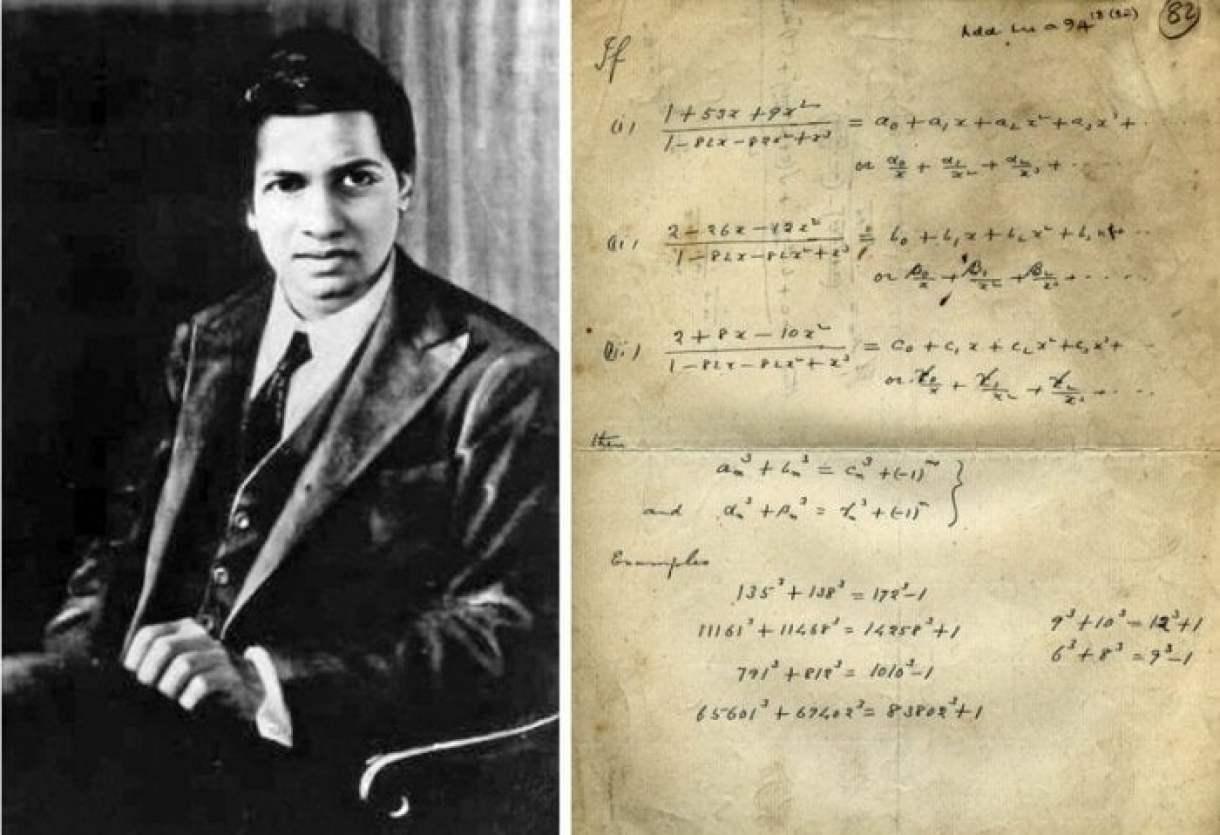 2 ramanudzhan velikij matematik samouchka
