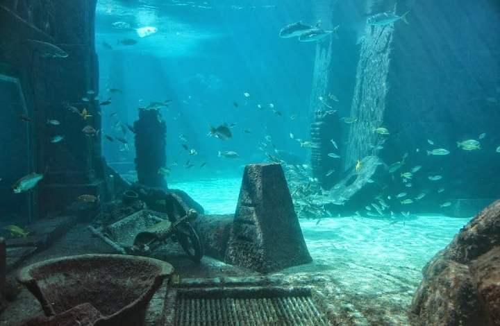 Colossal tsunami 20 meters high flooded British Atlantis