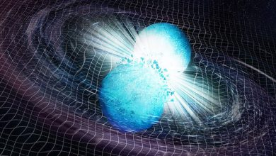 Photo of Explosive radiation from a collision of two neutron stars reached the Earth after 10 billion years