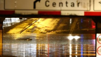 Photo of Heavy rain triggers flooding in Zagreb, Croatia
