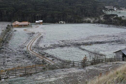 Record cold set in southern Brazil