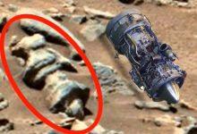 The famous ufologist found a jet engine on Mars