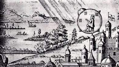 Photo of UFO landing in France in 1790