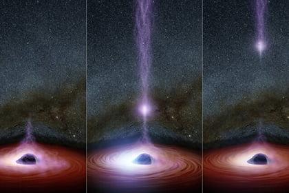 Unknown cosmic phenomenon first