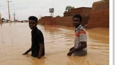 Photo of Heavy rains flood eastern districts of Sudan's capital Khartoum