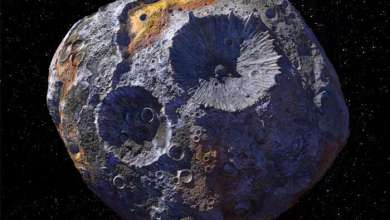 Photo of Asteroid Psyche may be the core of a never-formed planet