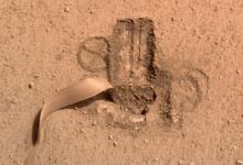 NASAs Martian Mole has officially dug in