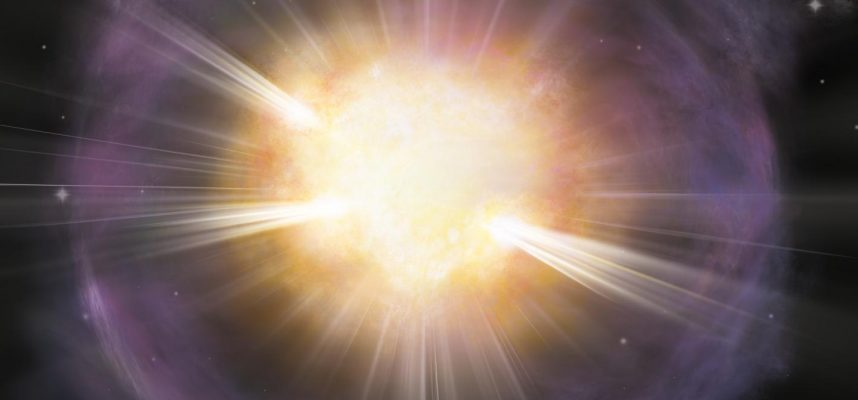 Scientists our bones are made up of the remains of exploding stars