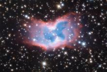 The butterfly nebula appears in all its glory to astronomers