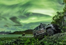 Photo of Geomagnetic storm triggers auroral outbreak