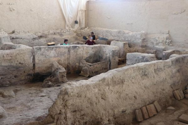 In Turkey found a factory built 3700 years ago