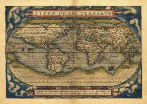 The worlds first geographic atlas