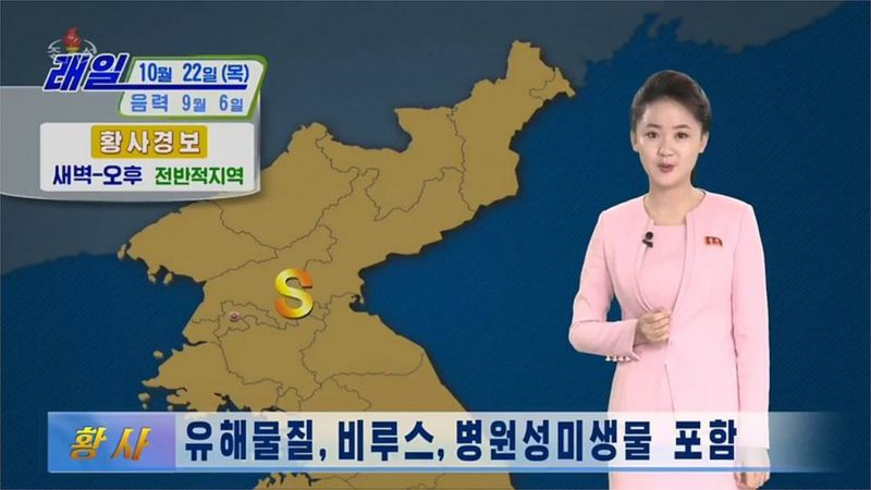 Yellow dust containing coronavirus follows from China to North Korea Korean authorities sounded the alarm