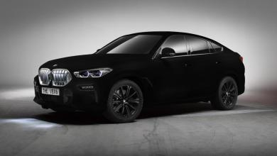 Photo of How BMW painted the car in the blackest known substance