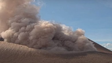 50 explosions in 9 hours occurred on the Telika volcano Nicaragua