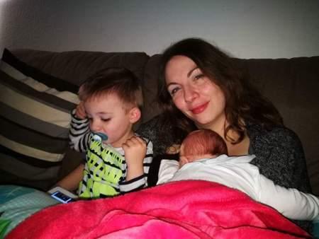 Lykke er... når der er ro og glæde i den lille familie :-)
