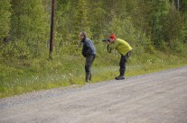 På äventyr, till Rikti-Dokkas med Per-Arne och Viktor.