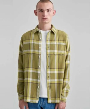 Saturdays NYC Kenmare Plaid L/S Shirt