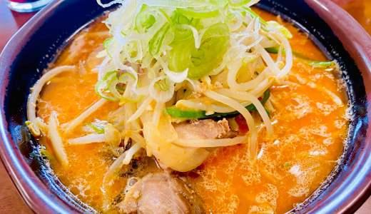【北海道ラーメン 新源@大月市】味噌が主役!人情溢れる店のオロチョン